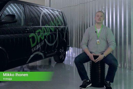 Drainman Oy – Yritysvideo