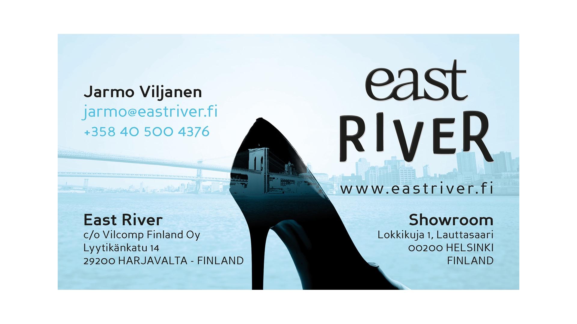 Käyntikortti : East River